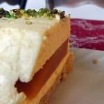 gâteau léger insert mangue et mousse au cumbava